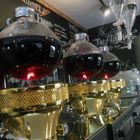 Coffee Brewer at the Alchemist