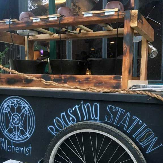 Roasting Station at the Alchemist