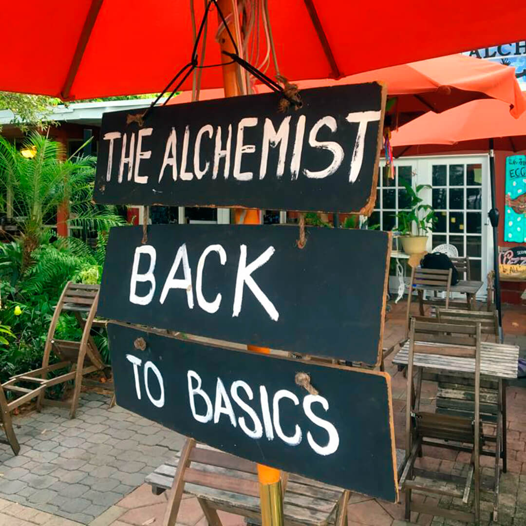 The Alchemist Back to Basis