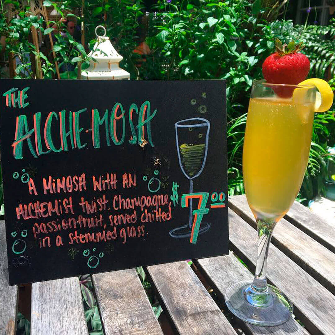 Mimosa with an Alchemist Twist